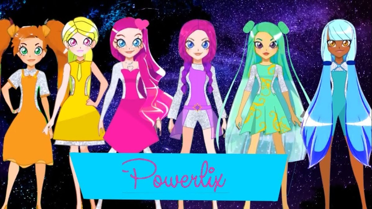 The animated stars of LoliRock are seen.