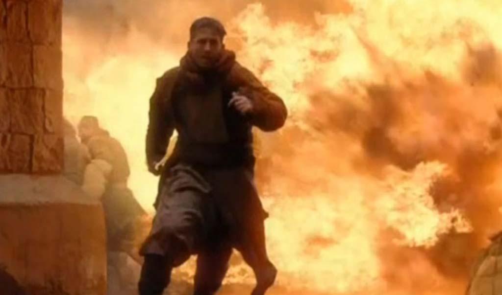 Aaron Rodgers running