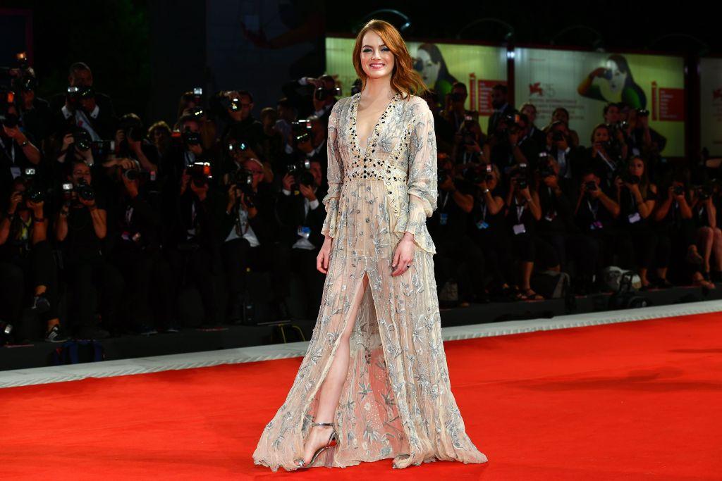 Emma Stone At The 75th Venice Film Festival