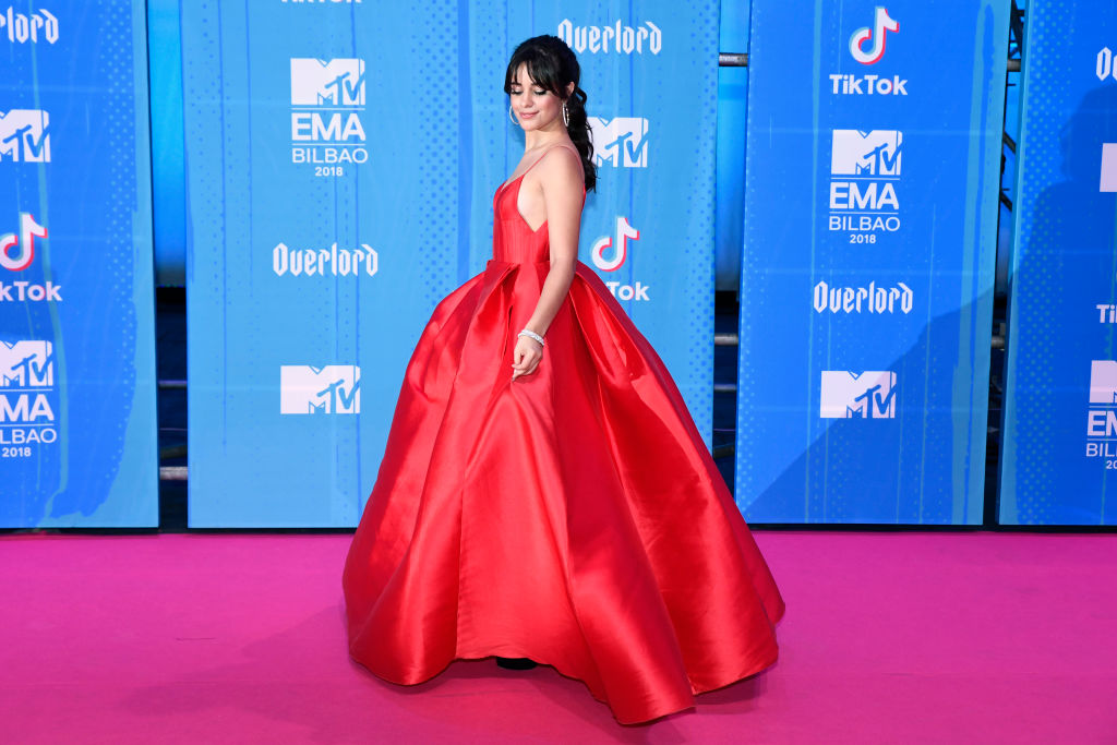 Camila Cabello At The 2018 MTV Europe Music Awards