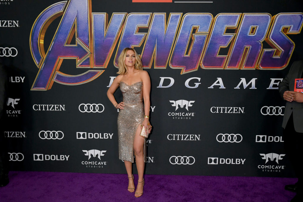Scarlet Johansson At The Avengers: Endgame World Premier