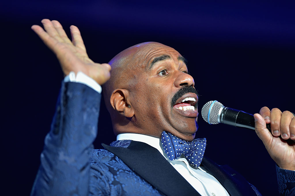 steve harvey comedian