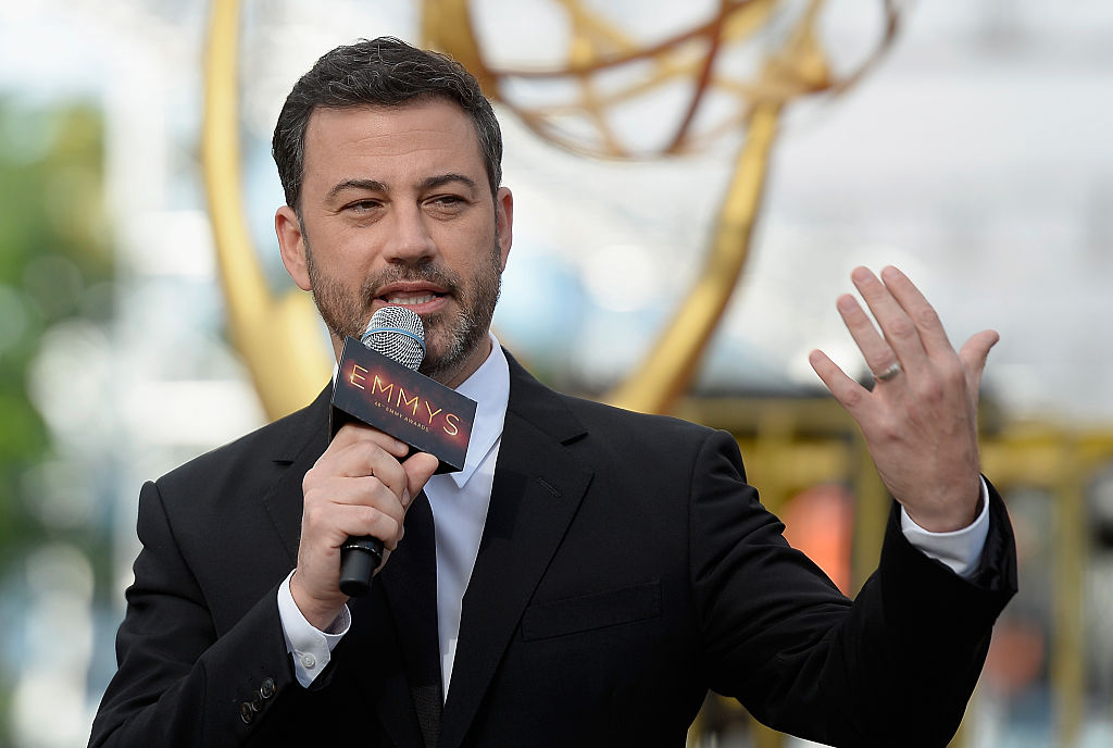 jimmy kimmel tv host