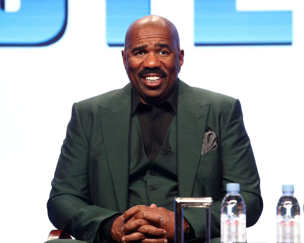 steve harvey tv host
