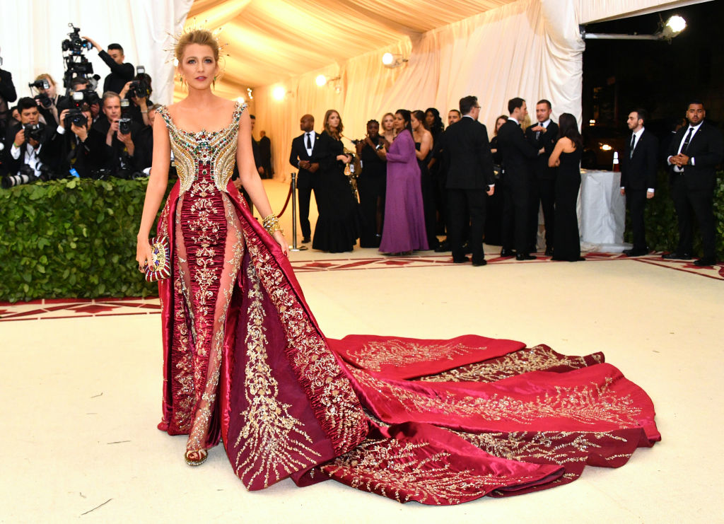 Blake Lively Slaying The 2018 Met Gala Heavenly Bodies Theme