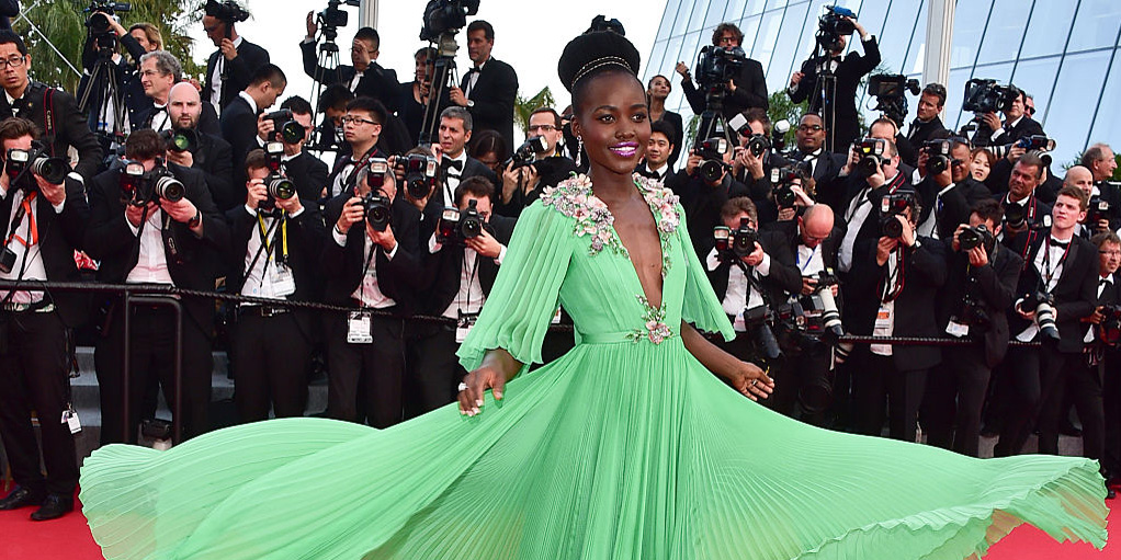 Lupita Nyong'o At The 2017 Cannes Film Festival