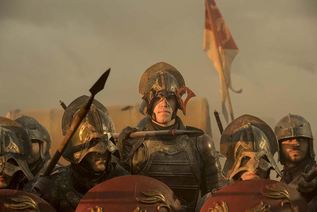 Noah Snydergaard as Lannister Soldier