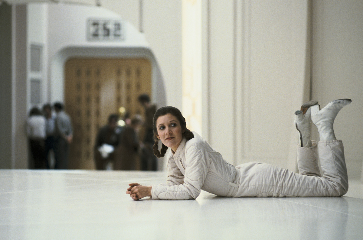 Carrie Fisher Taking A Quick Break From The Rebellion