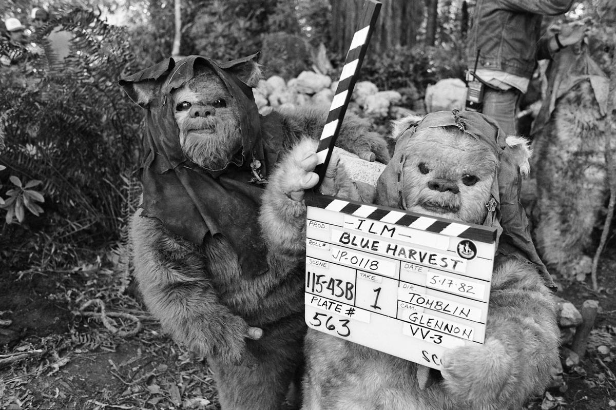 The Ewoks Were Directing