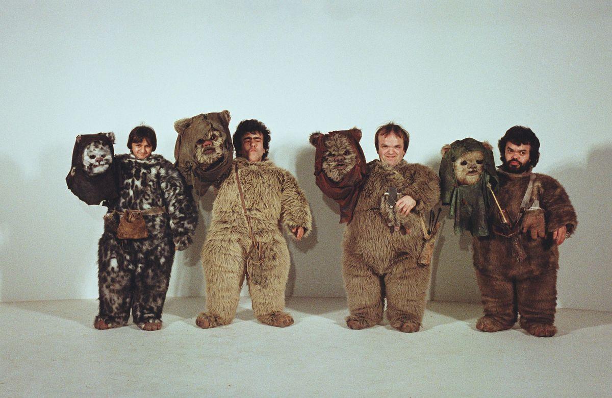 The Men Behind The Ewoks