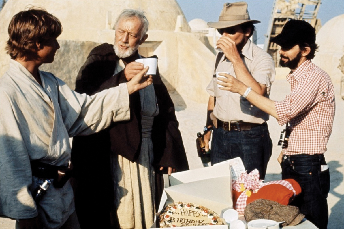 Even Obi-Wan Kenobi Needs Birthday Cake