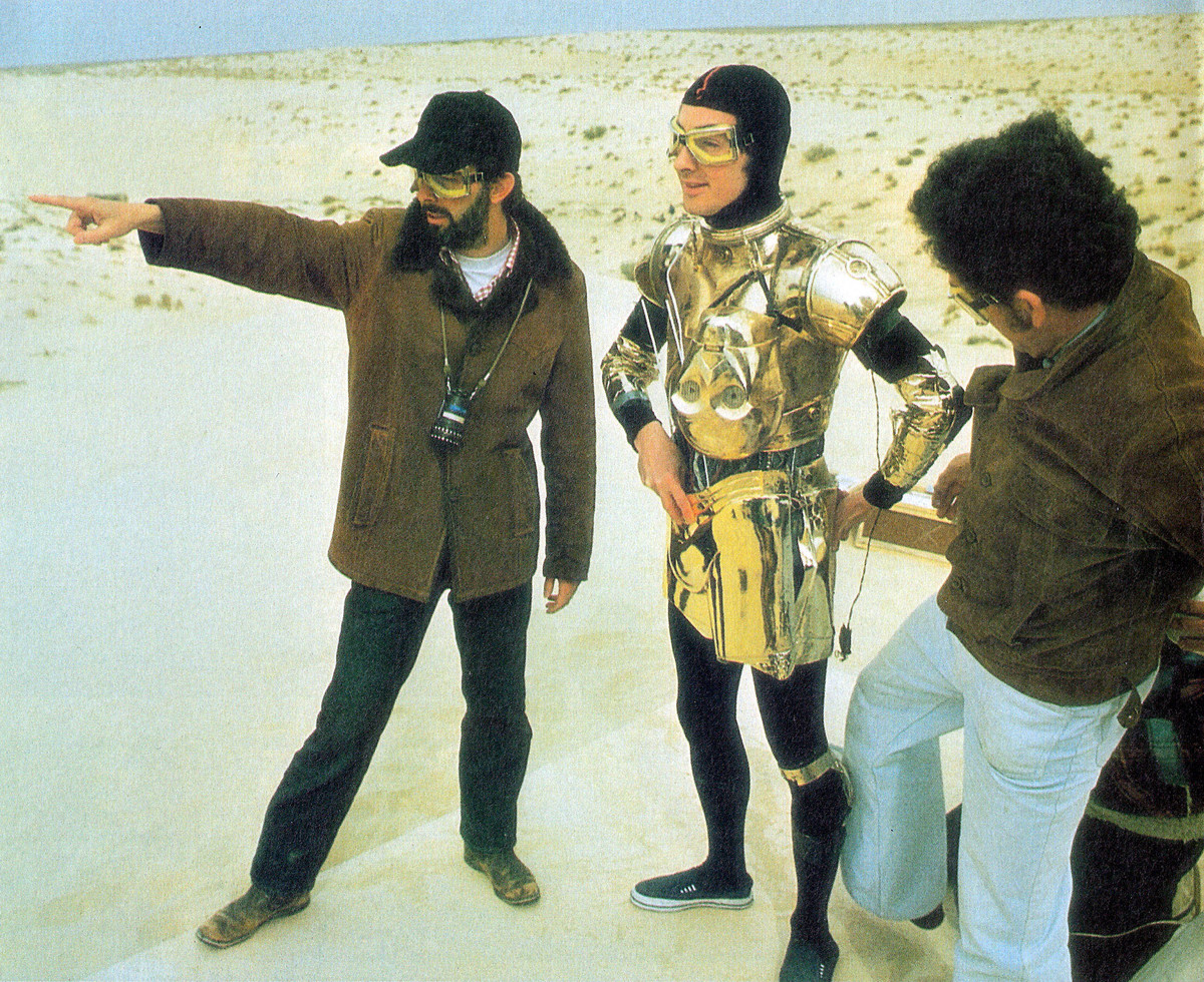Anthony Daniels Taking Direction From George Lucas