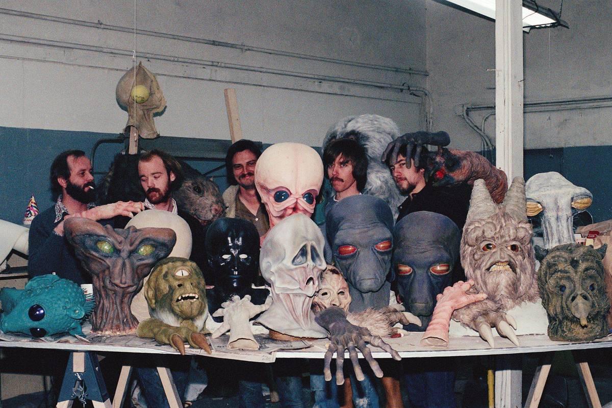 Alien Prosthetics At The Ready