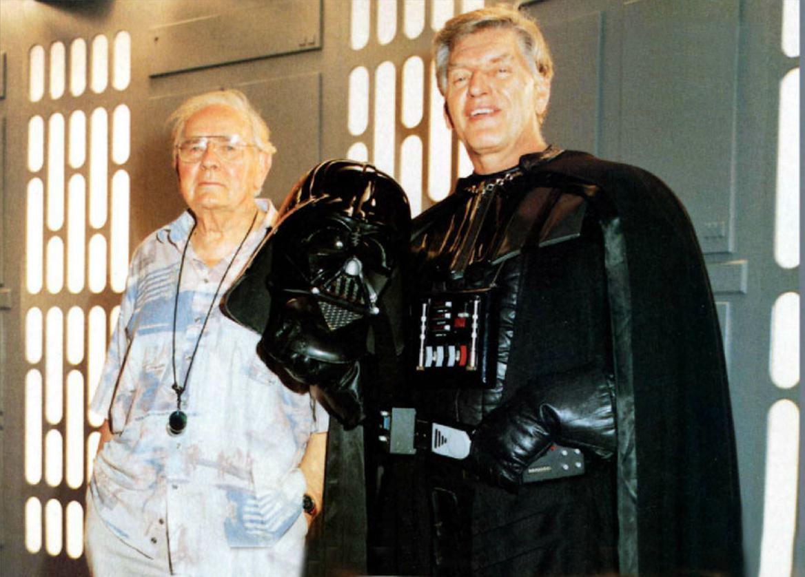 Darth Vader Takes Off His Mask