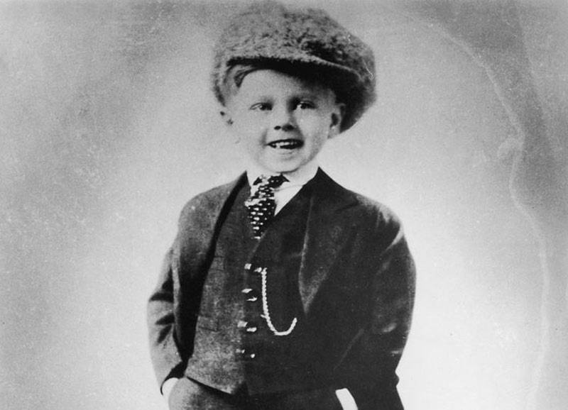 Mickey Rooney as a child