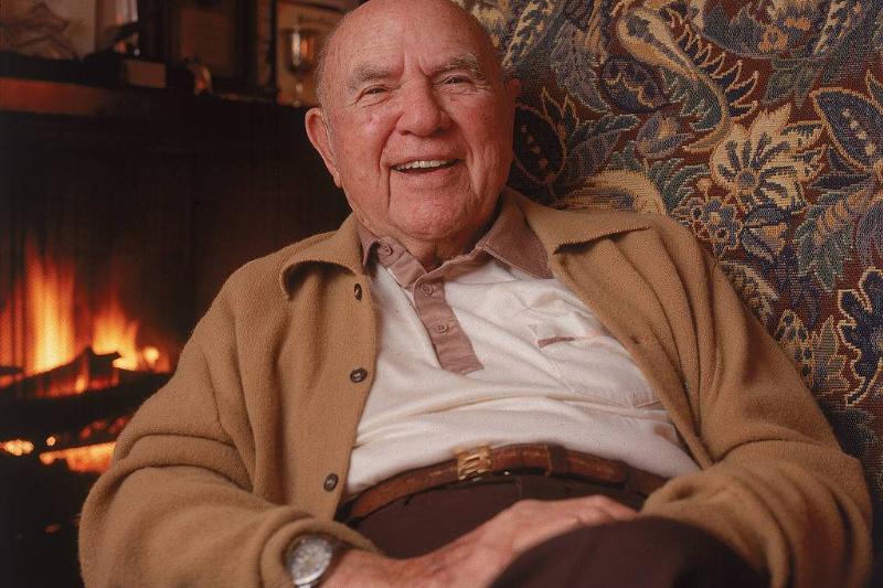 Portrait of American film producer Hal Roach