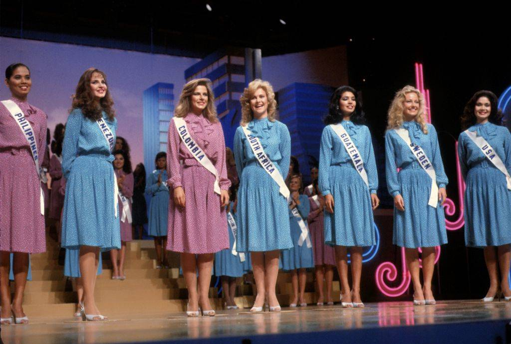 an early miss universe from the 80s