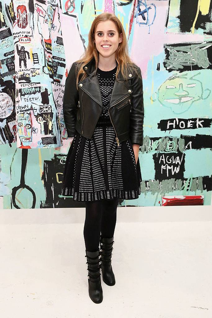 Princess Beatrice attends the alice + olivia x Basquiat CFDA Capsule Collection launch party