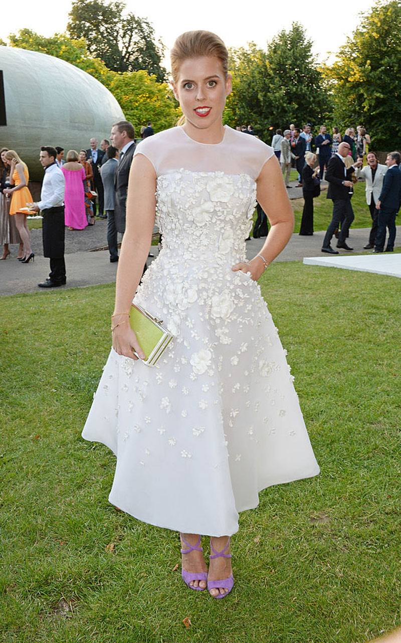 Princess Beatrice attends the annual Serpentine Galley Summer Party