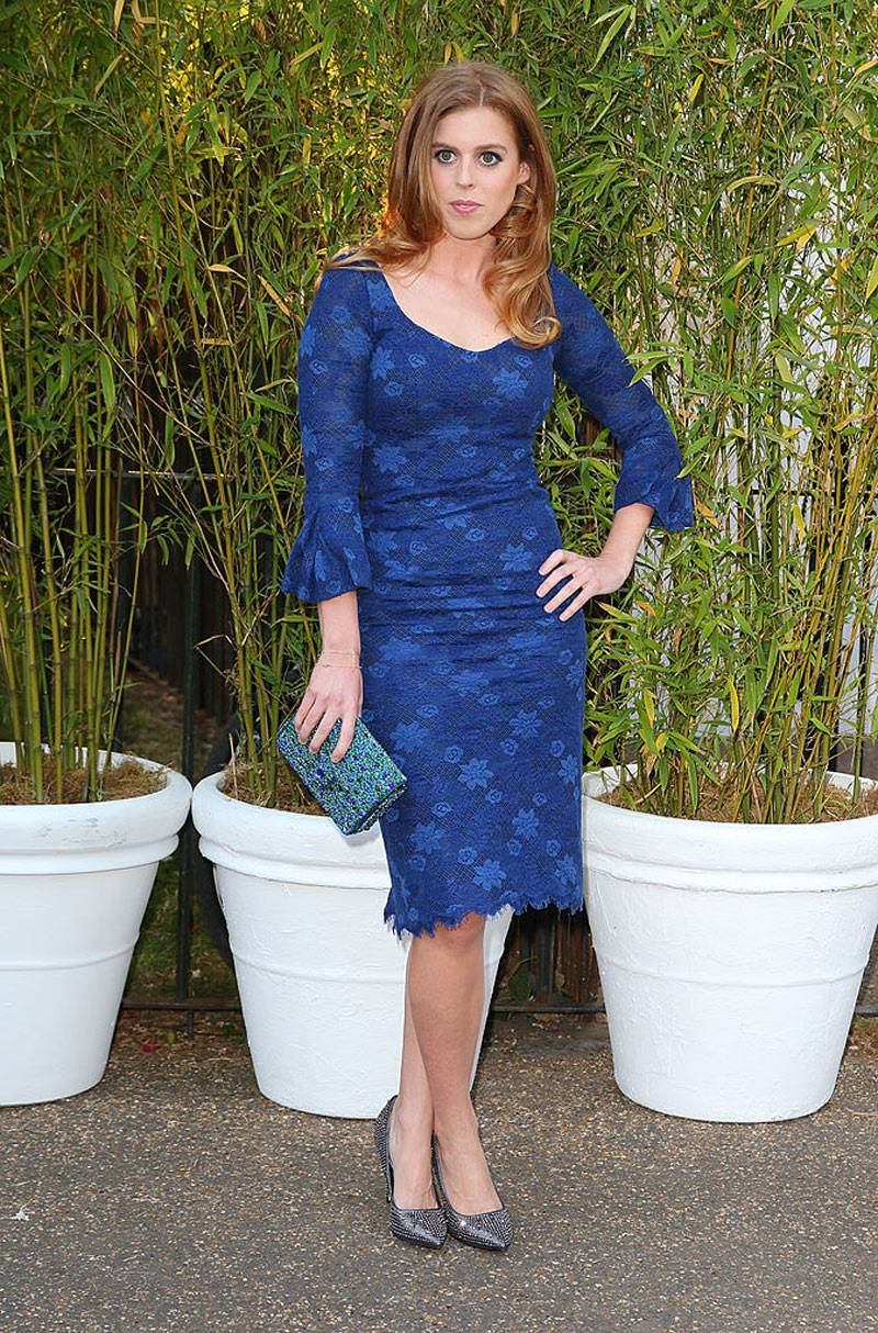 Princess Beatrice of York attends the annual Serpentine Gallery summer party