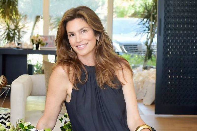Cindy Crawford attends Cindy Crawford x Sarah Flint celebrate the Sarah Flint spring footwear collection