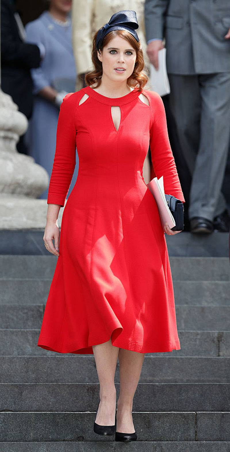 Princess Eugenie attends a national service of thanksgiving