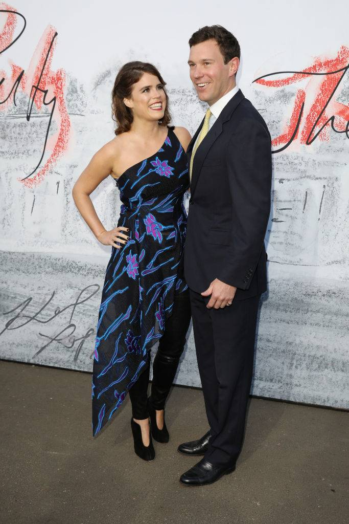 Princess Eugenie of York and Jack Brooksbank attend the Serpentine Summer Party 2018