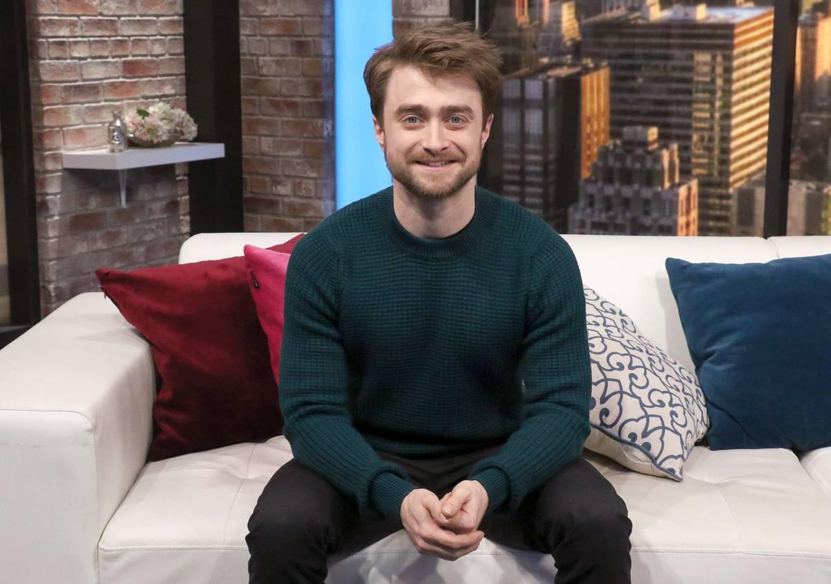Daniel Radcliffe Has Been Building Legos