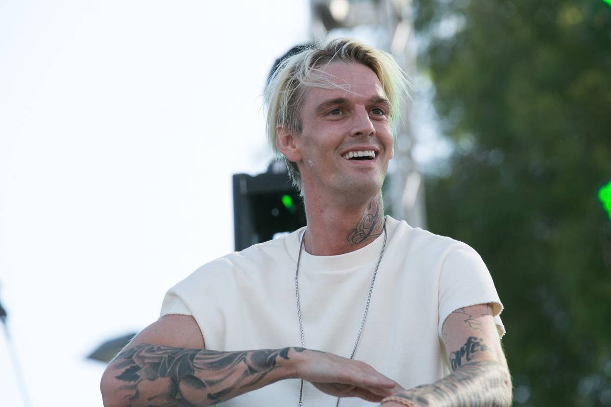 Aaron Carter Didn't File His Taxes