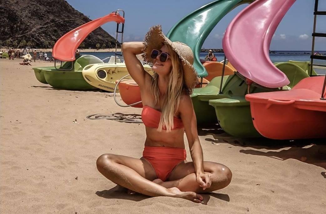 bikini on the beach