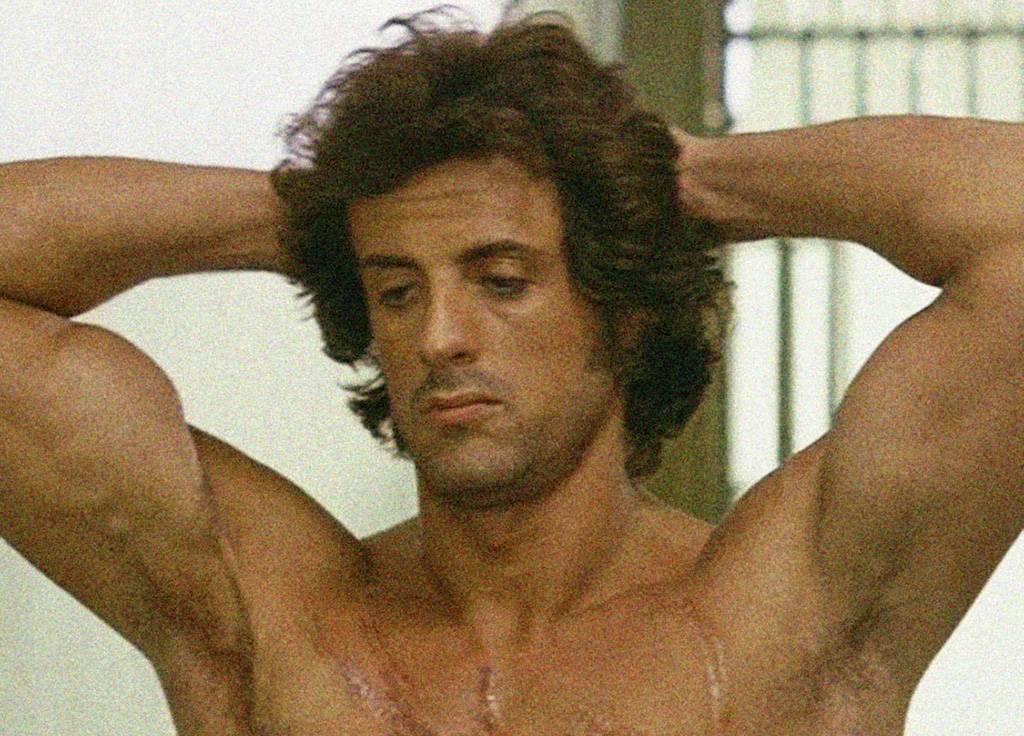 Rambo shirtless