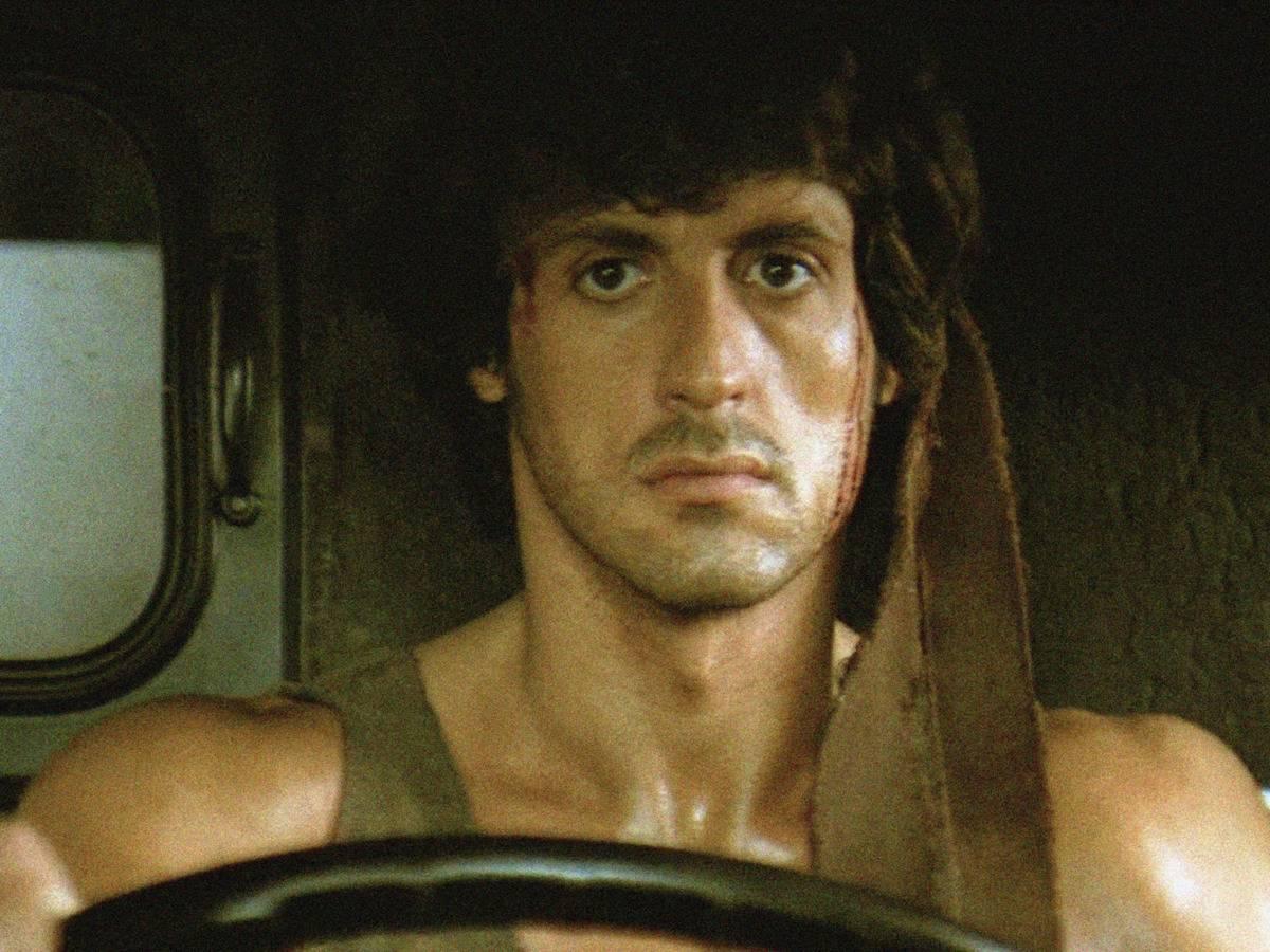Rambo driving