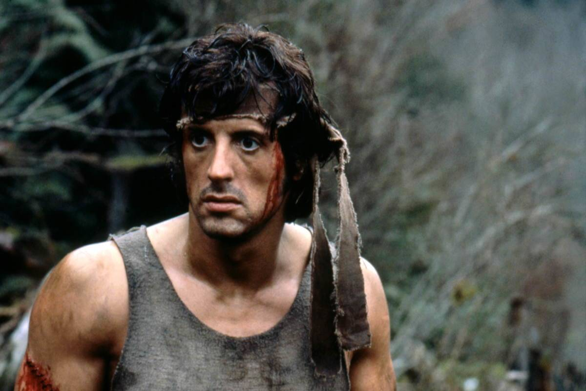 Stallone as Rambo