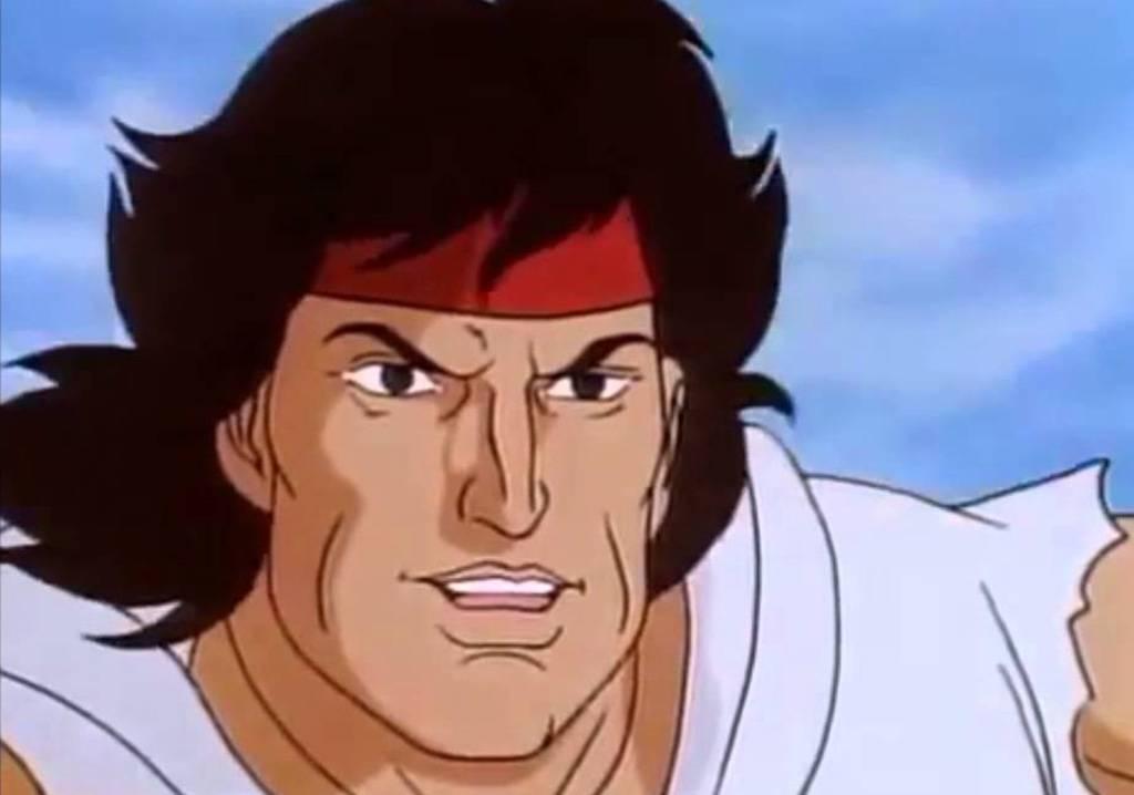 Cartoon Rambo