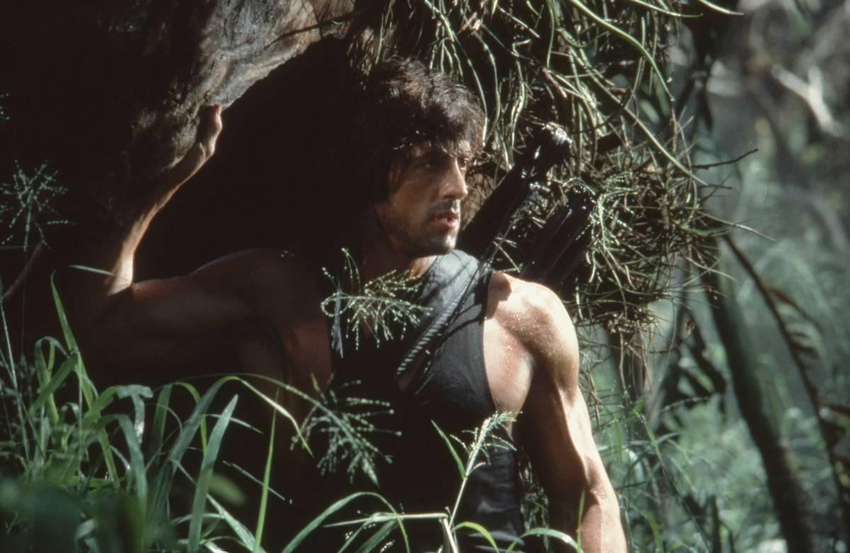 Rambo in the jungle