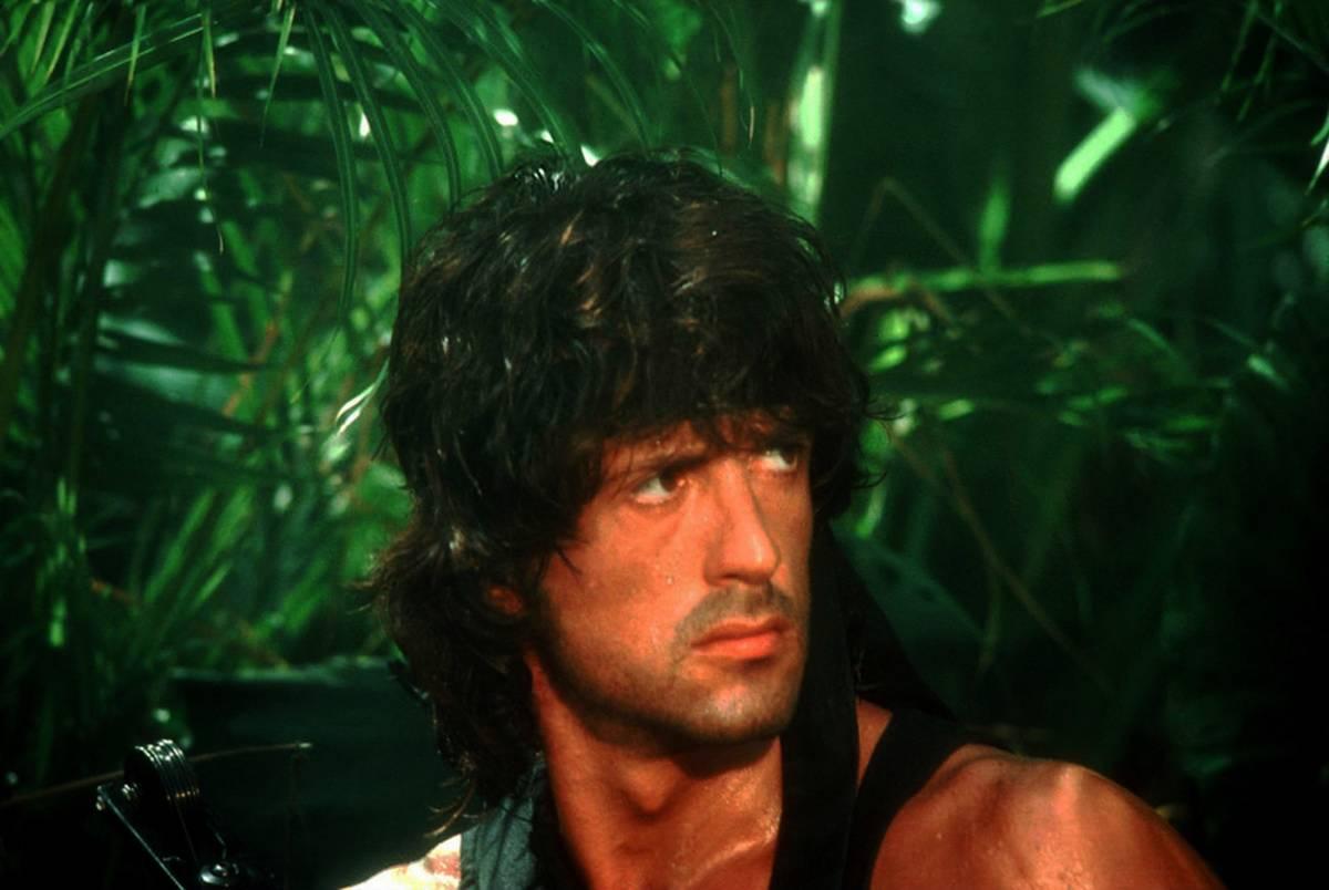 Stallone in the jungle