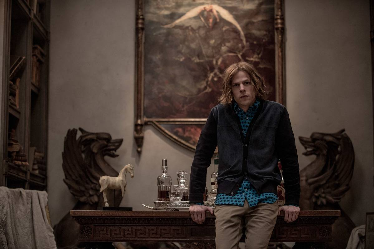 Jesse Eisenberg In Batman v Superman: Dawn Of Justice