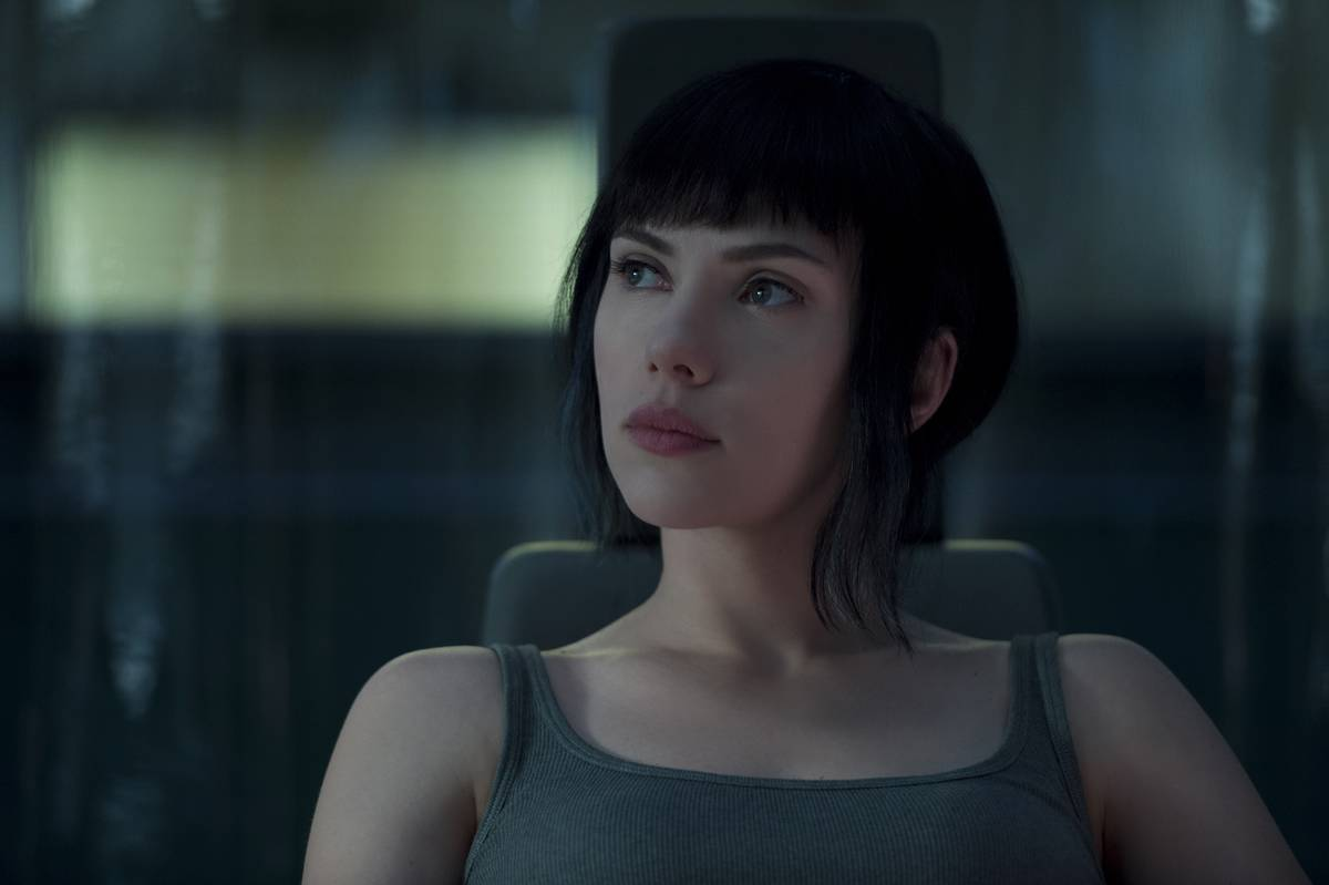 Scarlett Johansson In Ghost In The Shell