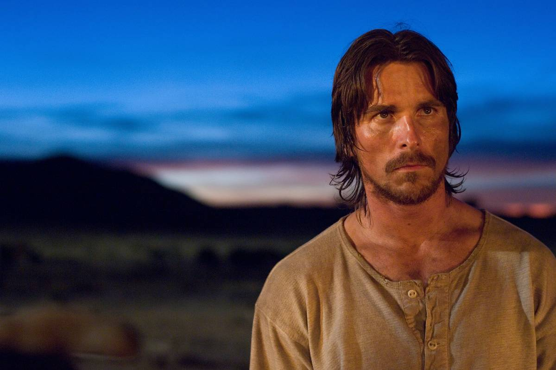 Christian Bale in 3:10 to Yuma
