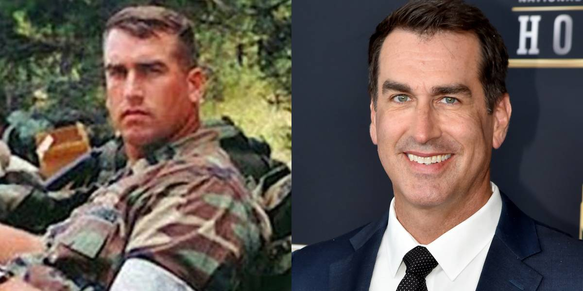Rob Riggle: United States Marine Corps, 1990