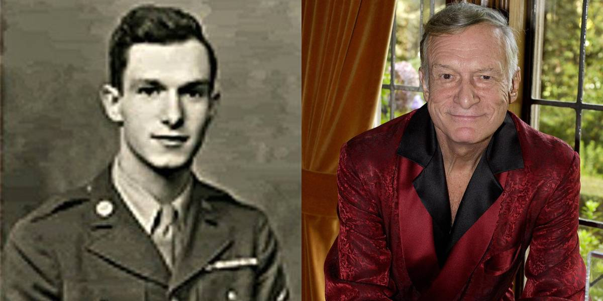 Hugh Hefner: United States Army, 1944