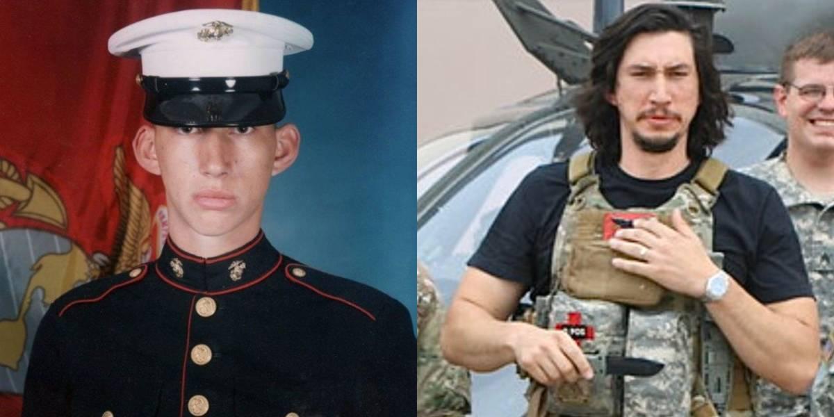 Adam Driver: United States Marine Corps, 2002