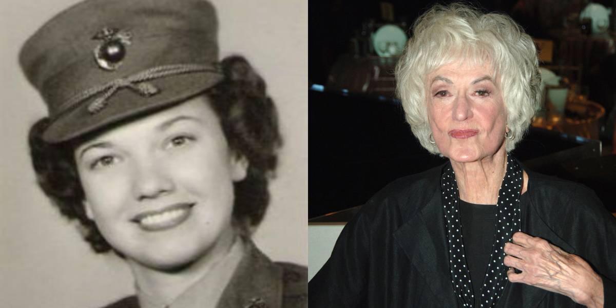 Bea Arthur: United States Marine Corps, 1943