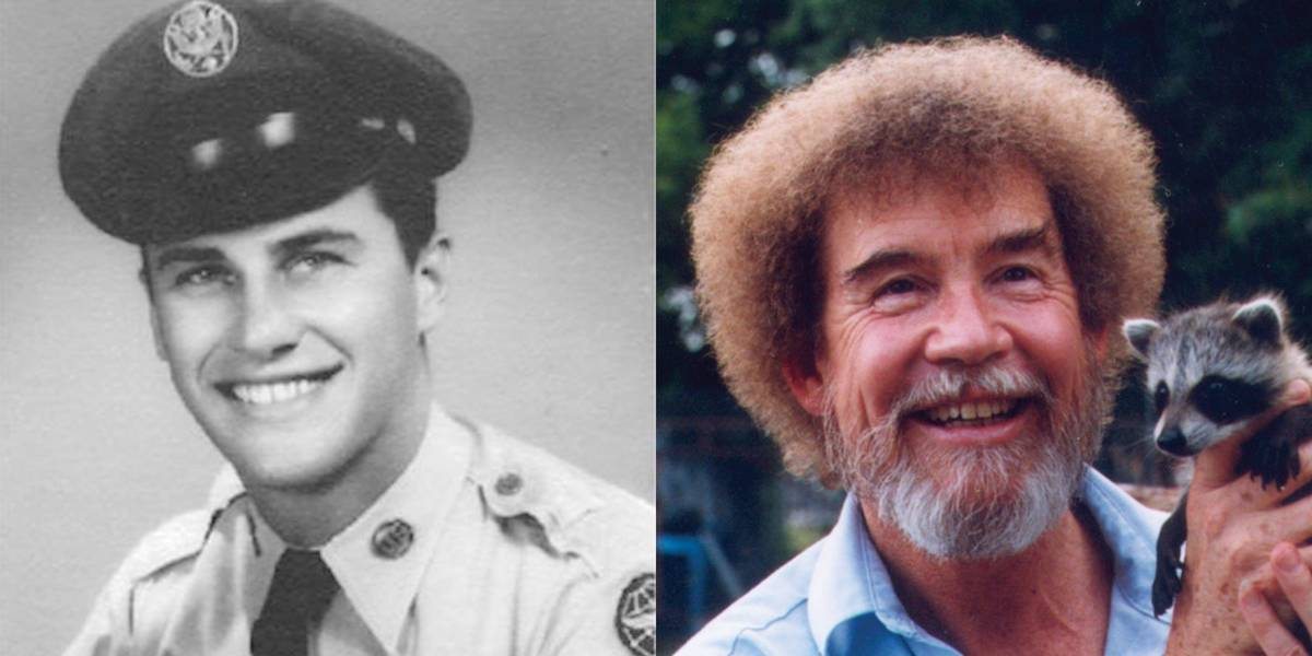 Bob Ross: United States Air Force, 1961