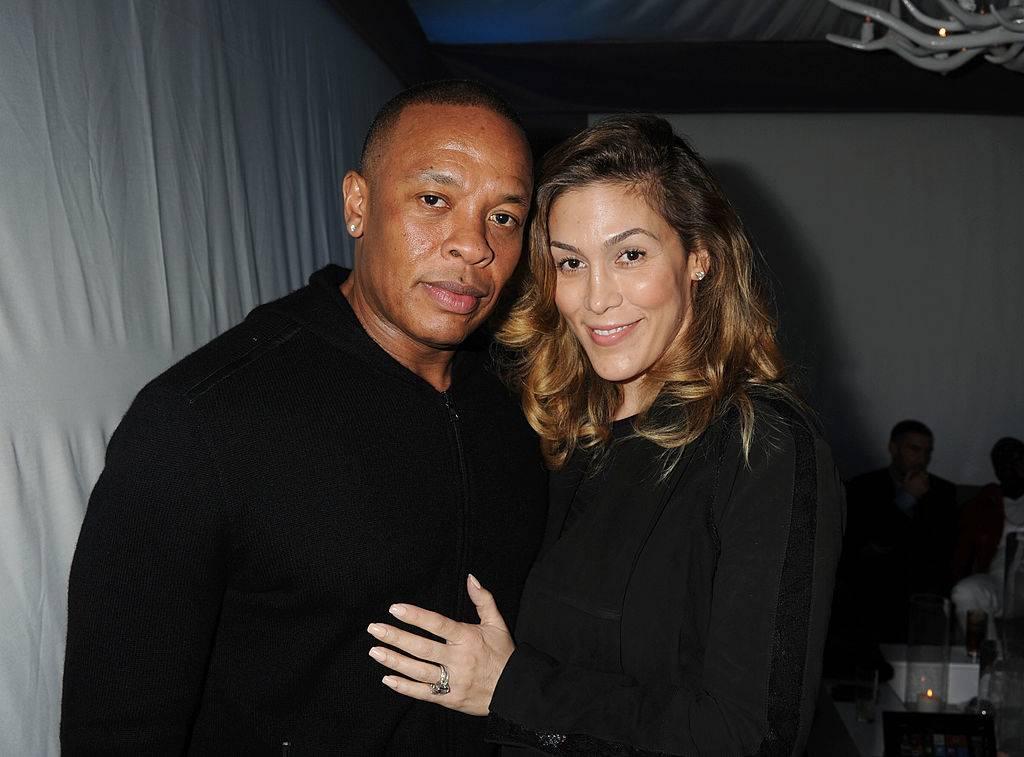 Dr. Dre and Nicole Threatt