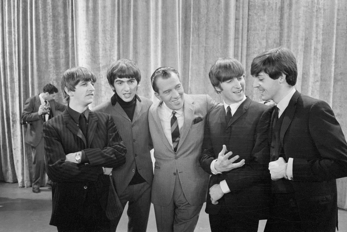 The Beatles On Ed Sullivan - 1964