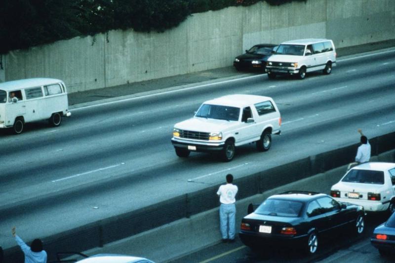 O.J. Simpson's Slow-Speed Bronco Chase - 1994
