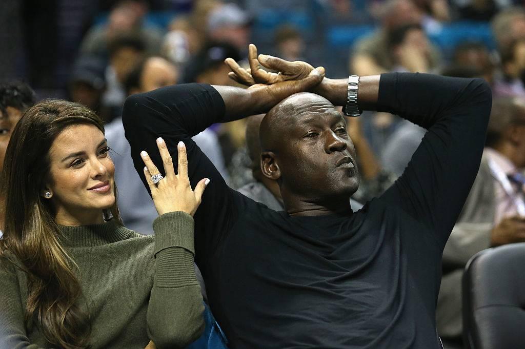 Yvette Prieto and her husband and owner of the Charlotte Hornets, Michael Jordan