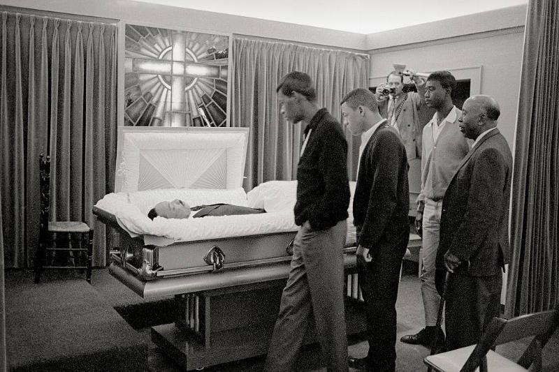 MLK casket