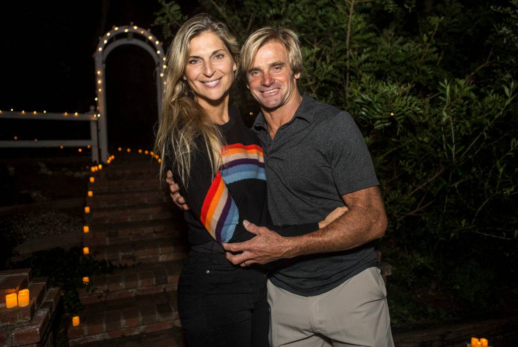 Gabrielle Reece and Laird Hamilton